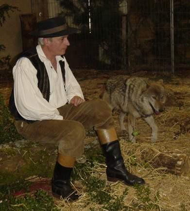 Philippe et sa louve Croquette
